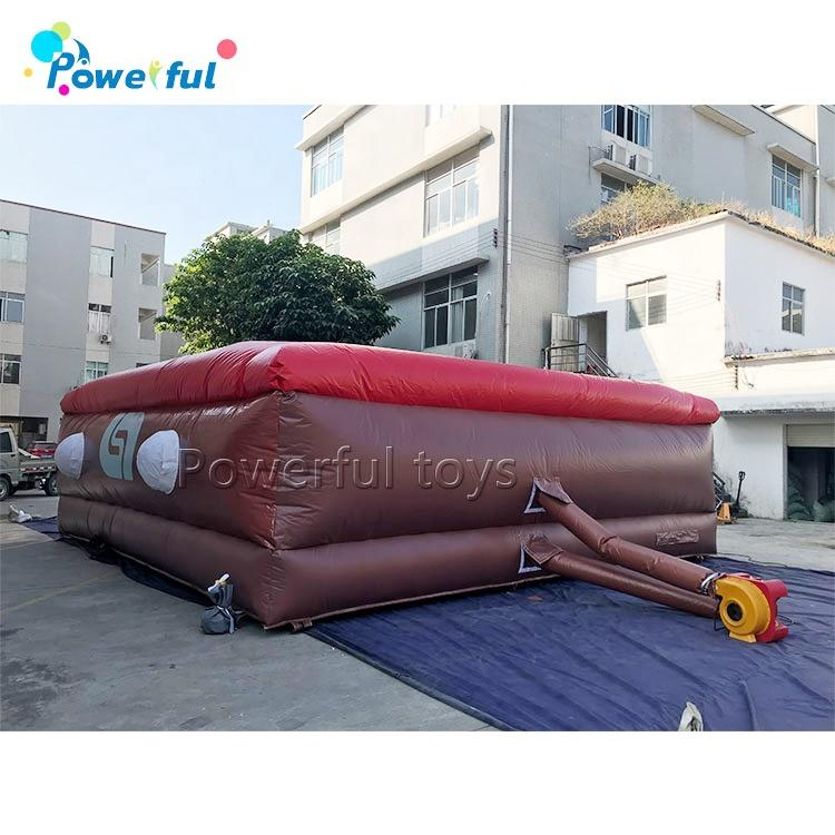 Giant inflatable jump air bag for stunt sports, jumping air bag on sale
