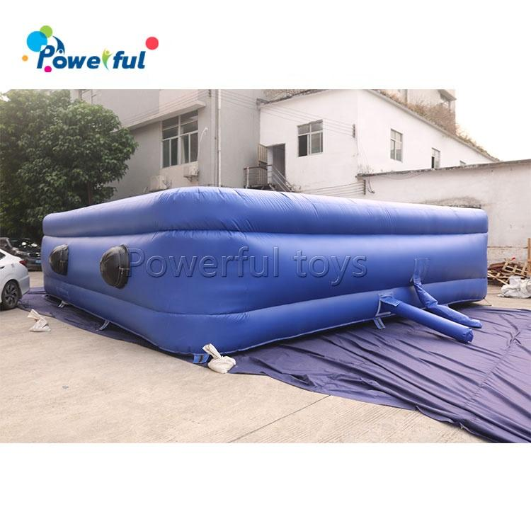 8x8x2m Extreme Sport Stunt Movement Inflatable Jumping Airbag Freestyle Jumping