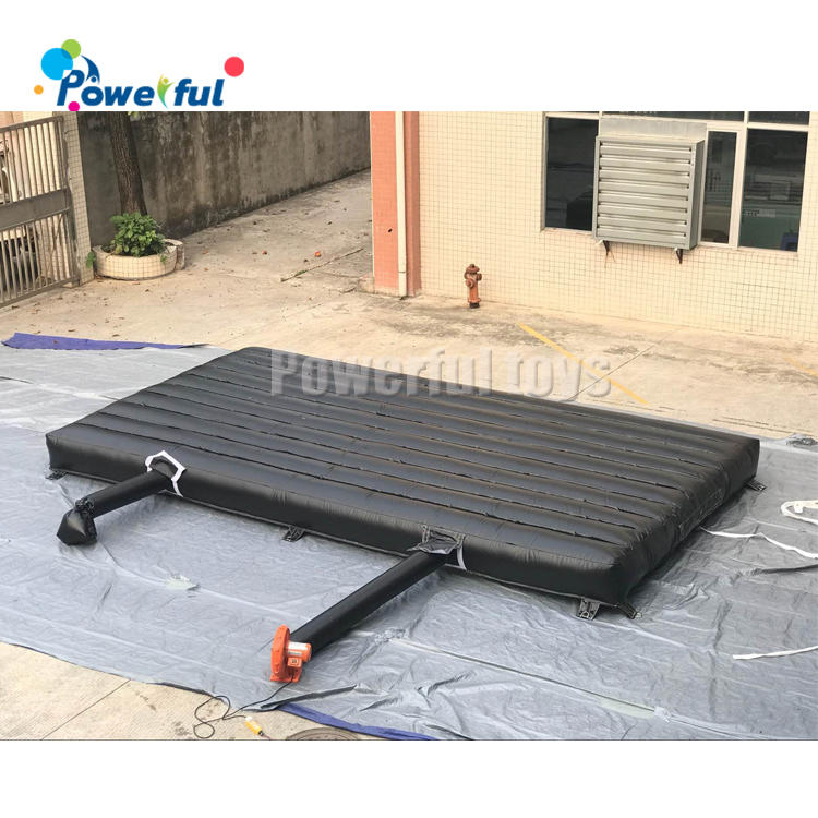Outdoorlanding airbag inflatable soft landing air mattress jumping air mat for landing