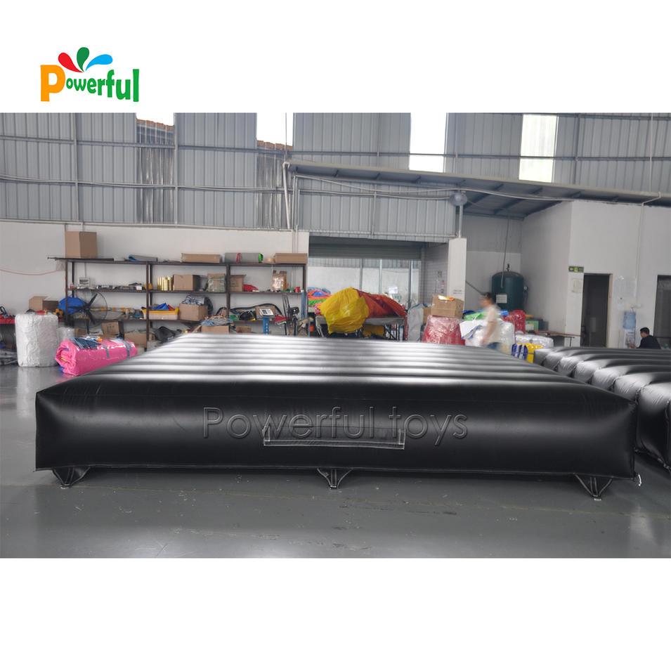 Big bmx safetylanding airbag Inflatable jump air mattress Freefall Jump Air Mattress for Stunt Bag