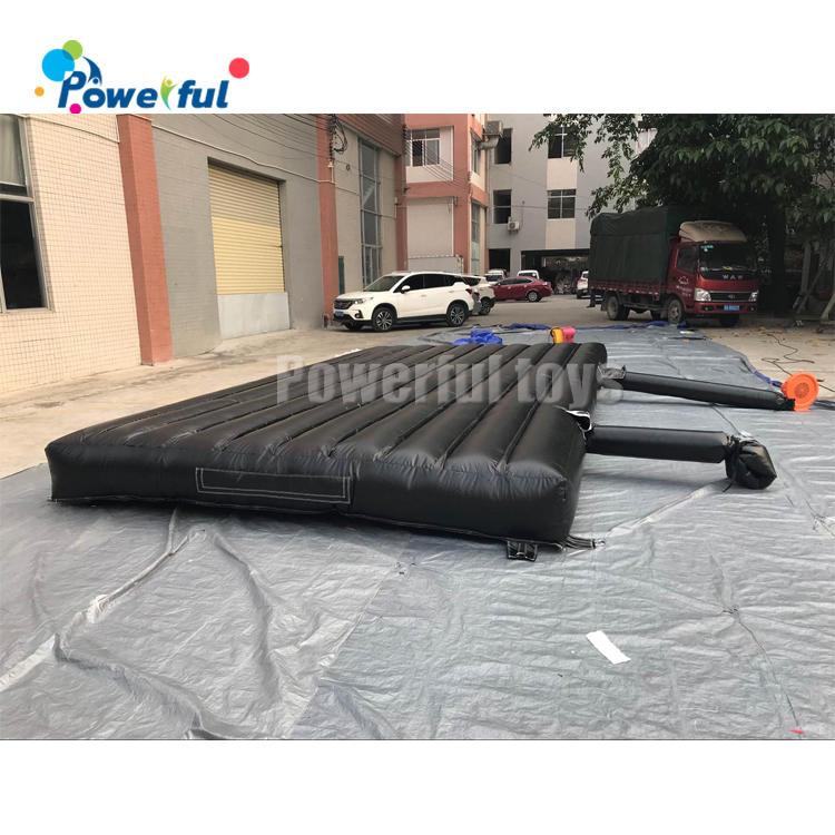 Outdoorlanding airbag inflatable soft landing air mattress jumping air mat for landing