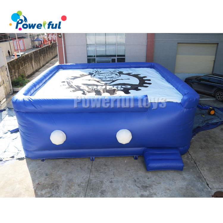 Free Logo printing giant 3mH bike jump airbag for sale