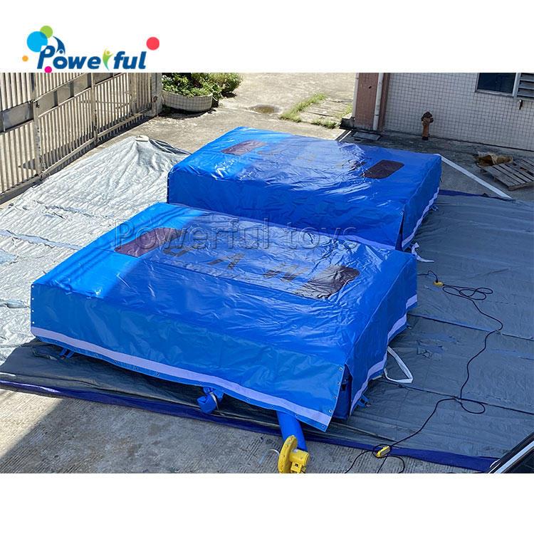 4x3minflatable gymnasticsjumping airbag indoor trampoline park airbag