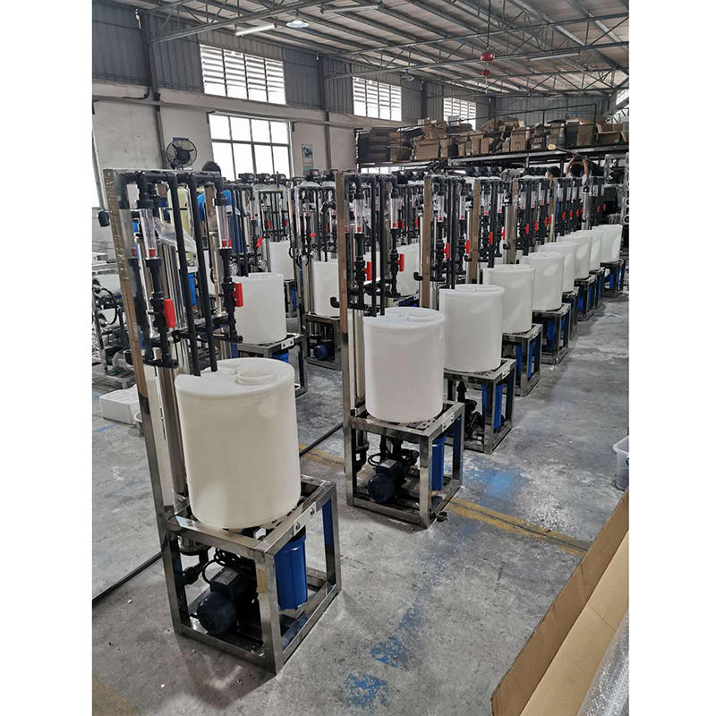 Water treatment equipment machine cip cleaning system
