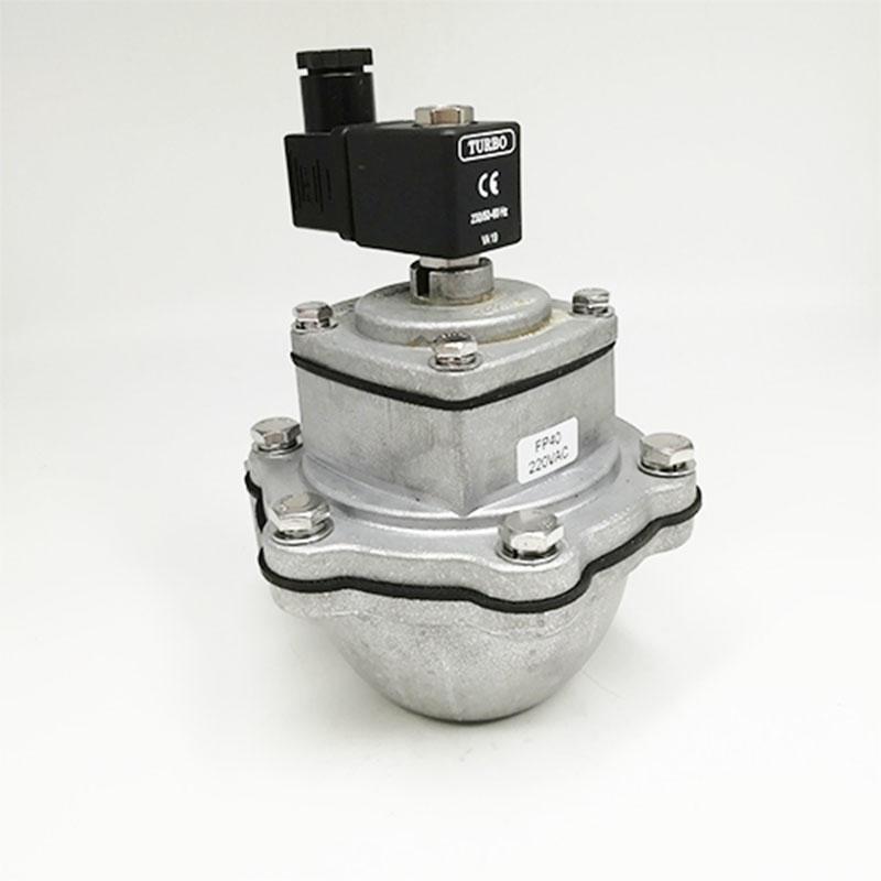 Automatic FP40dust collector industrial Medium Temperature Aluminum Pulse Solenoid Valve pulse jet valve