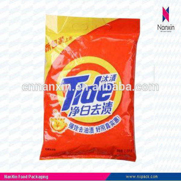washing detergent powder bag