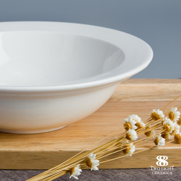 Nice design hotel restaurant use round ceramic soup bowl