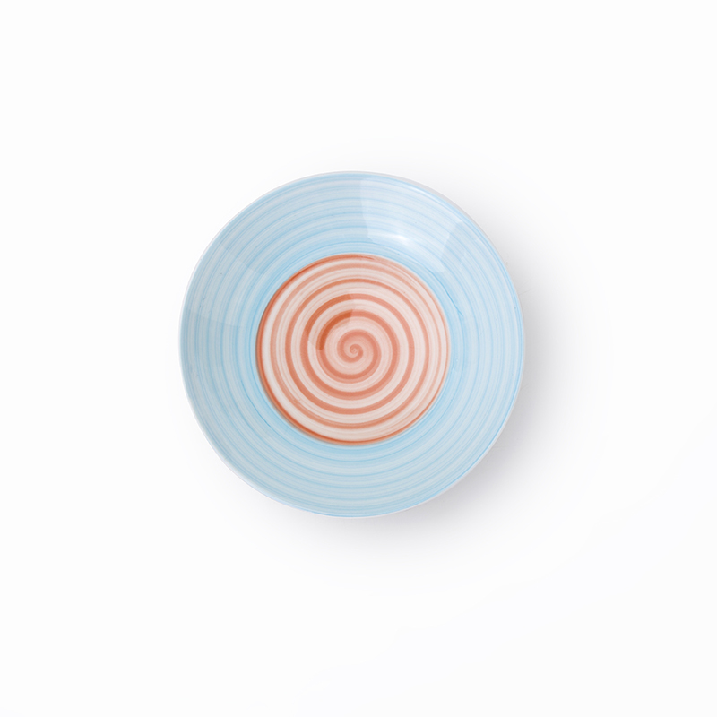 New Style Crockery Porcelain Colored BowlHotel Round Cafe Dinnerware, Porcelain Tableware For Restaurant Soup Bowl>