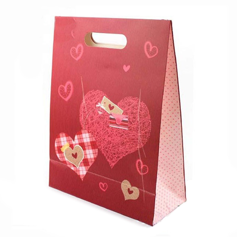 Candy Style Cardboard Gift Paper bags with Your Own Logo