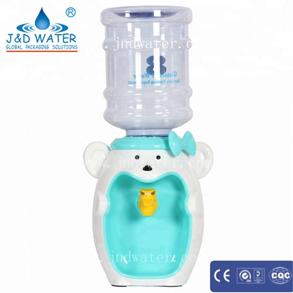 Competitive price easy operation lovely plastic mini water dispenser