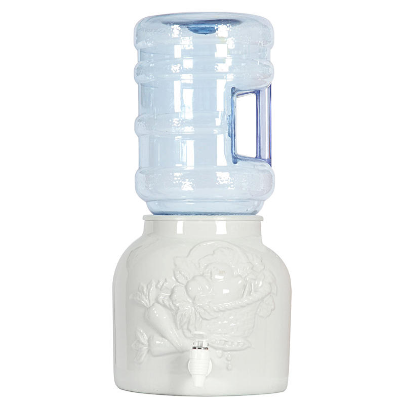Ceramic water dispensers use for 5 gallon bottled water