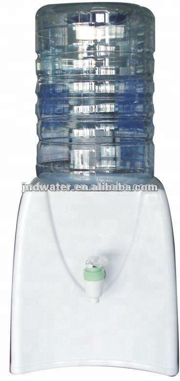 Mini Plastic Square Water Dispenser for 5 Gallon Bottle