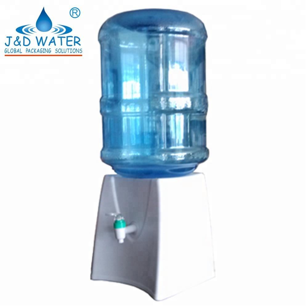 Mini Plastic Square Water Dispenser for 5 Gallon Bottle