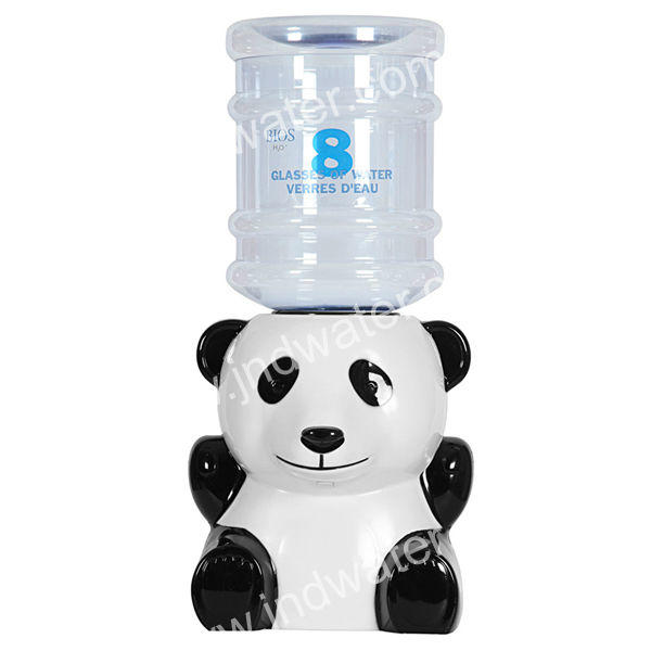 Non-electric Plastic panda animal cute Portable Mini Water Dispenser