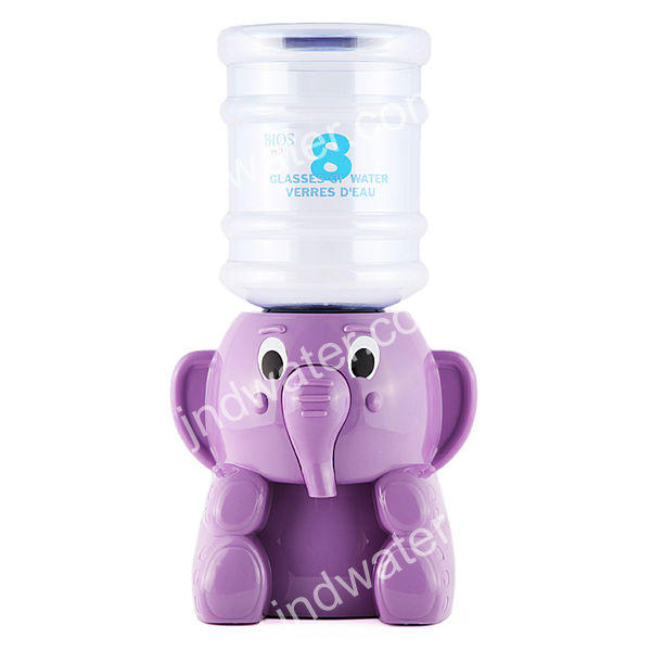 Non-electric Plastic panda animal cute Portable Mini Water Dispenser