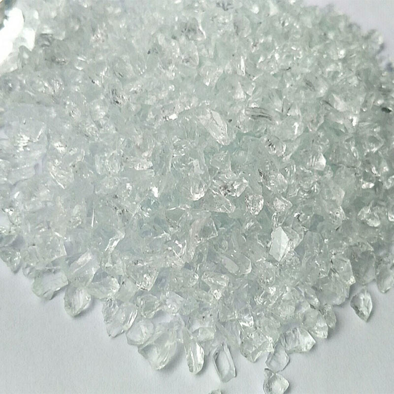 Colored Crushed Recycled Glass Mirror Glass Granules