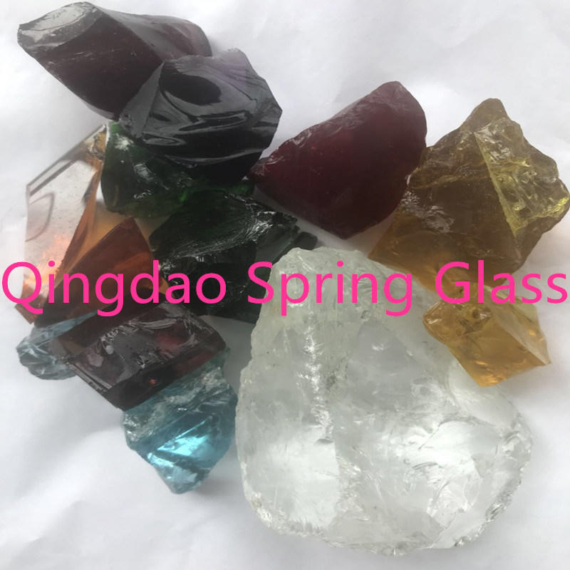 China Colored Crystal Rock From Spring