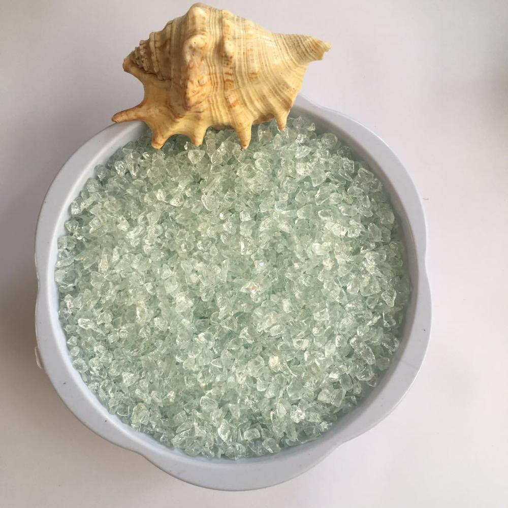 Wholesale Terrazzo Aggregates Decorative Colored Crushed Recycled Glass