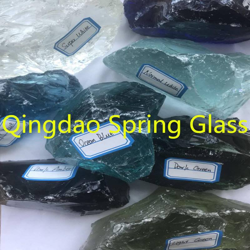 Large Colorful Glass Chunks for Sale
