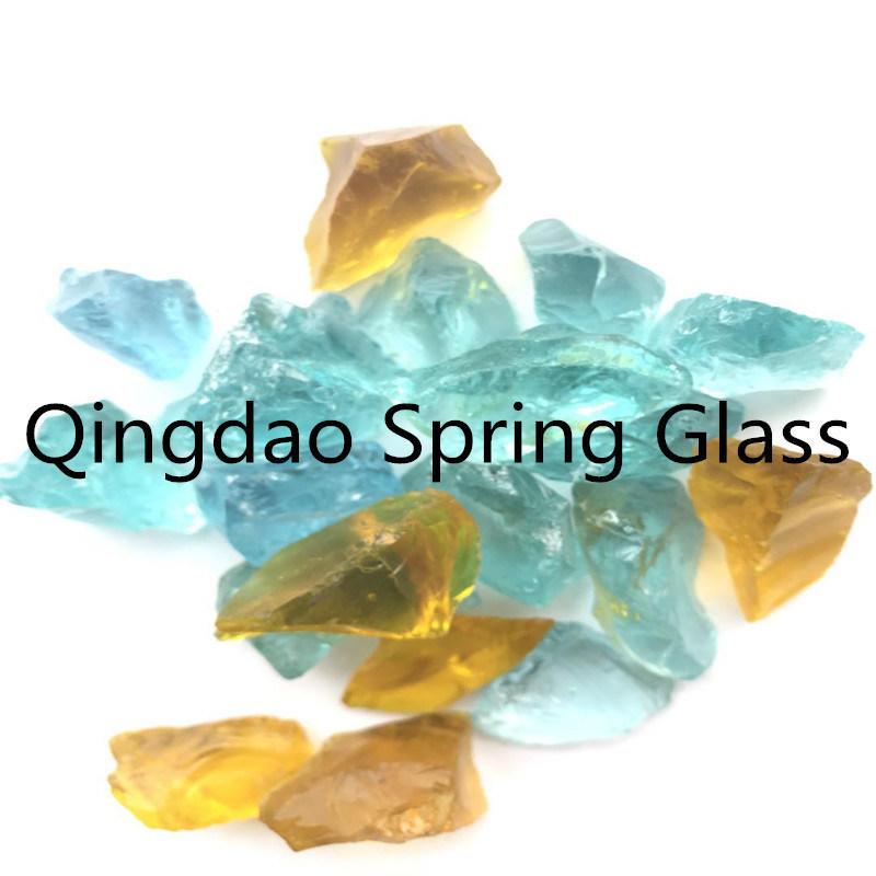 1-2cm Small Size Colored Glass Stones