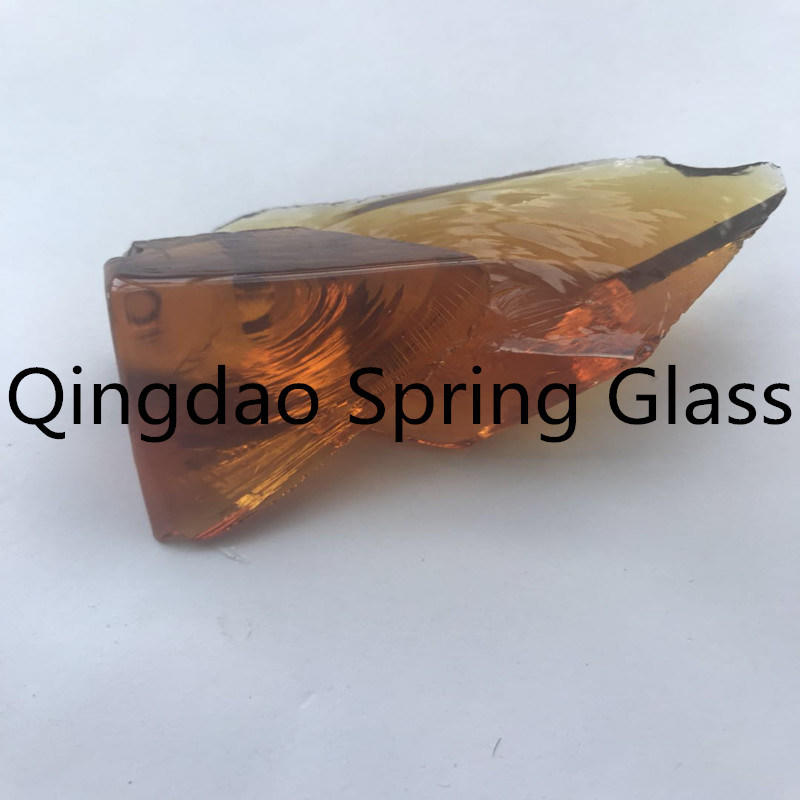 Nut Brown Glass Stones Made in China