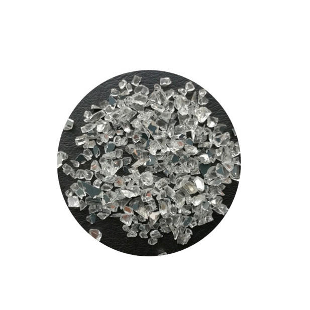 Crushed Glass Mirror Chips Crushed Glass for Arts and Crafts, Vase Filler, Mosaics, Jewelry, Home Decorations