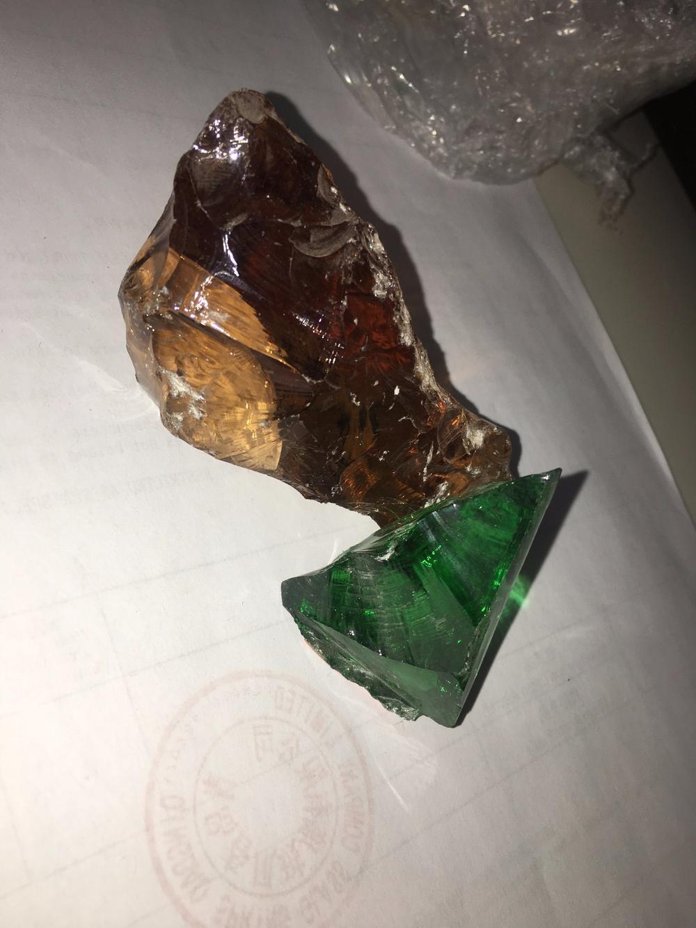 Top Quality Crushed Glass Rocks