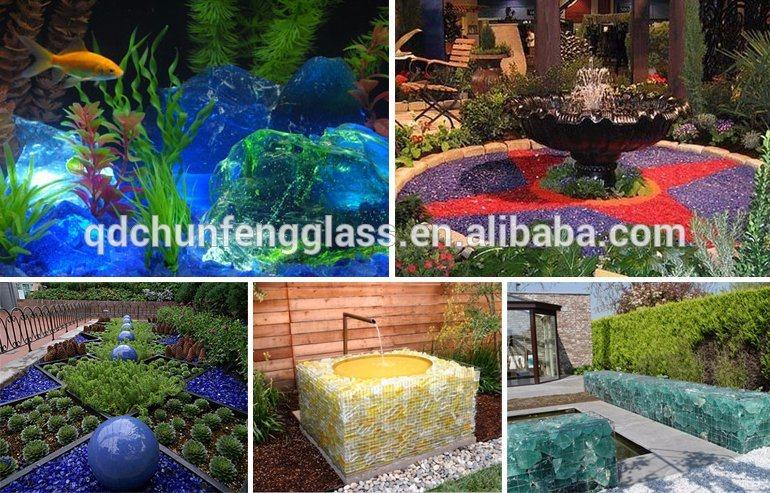 Landscaping Glass Cullets From Spring
