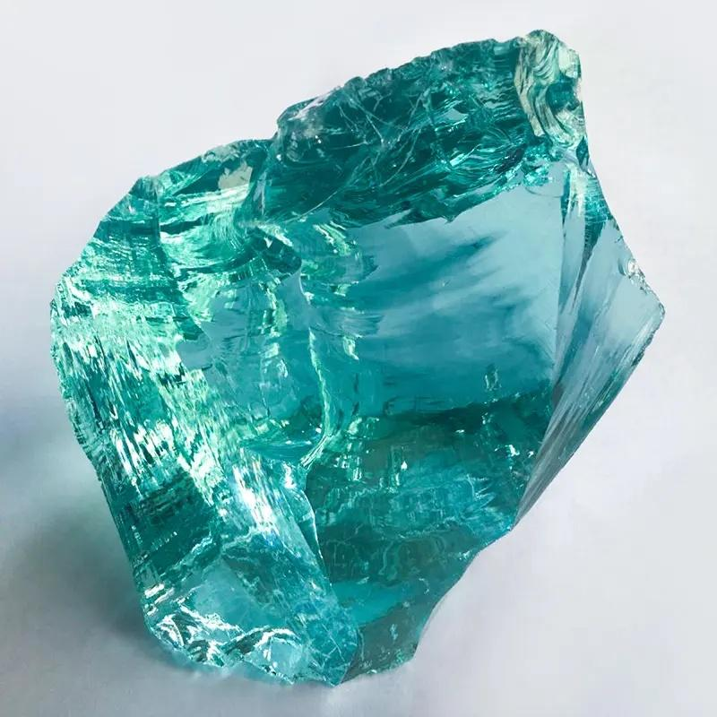 Slag Glass Rocks with Different Specification Are in Good Stocks From Factory