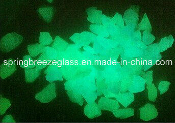 Crushed Luminescent Glass for Garden