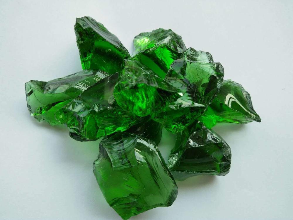 Transparent Large Glass Rocks