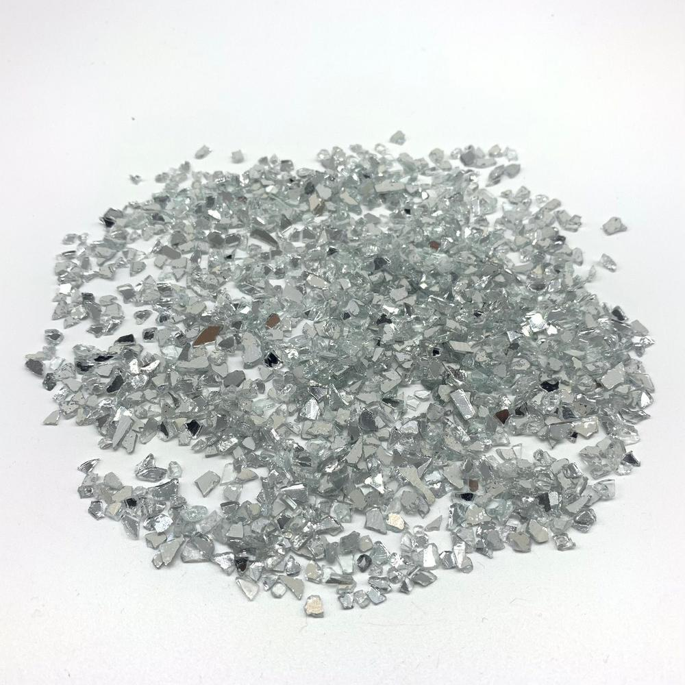Low Price Crushed Glass Mirror of Ground Tile Artificial Stone Mirror Chips
