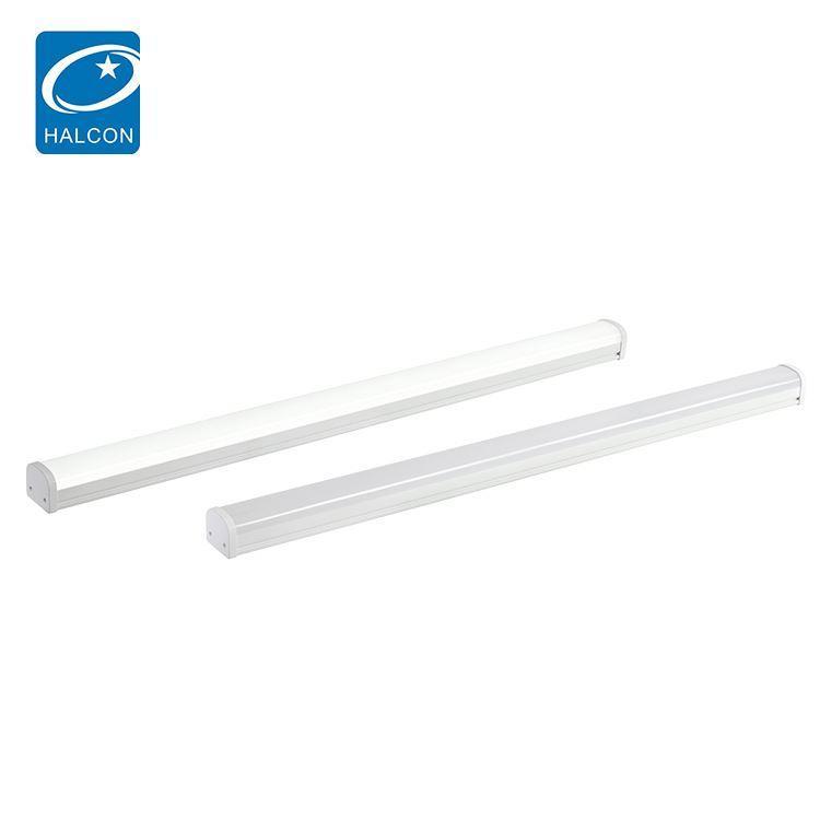 Low power mounted surface waterproof ip65 4ft 36w 8ft 60w slim linear led batten light