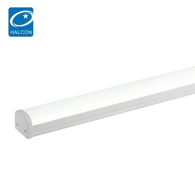 Hot selling school hospital waterproof ip65 36 60 watt 4ft 8ft slim linear led vapor light