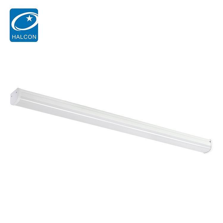 Low power dimming waterproof ip65 4ft 36watt 8ft 60watt slim led batten strip light
