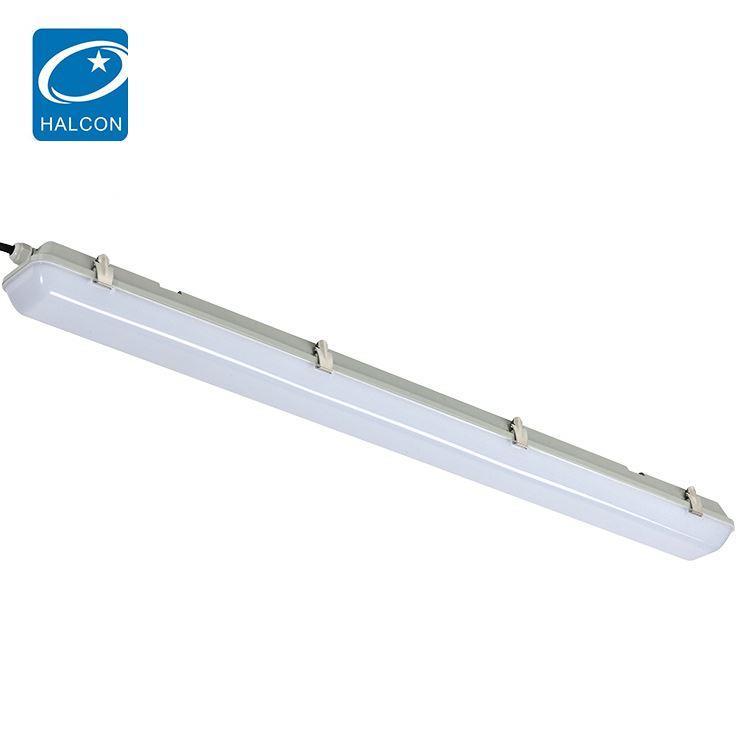 Zhongshan lighting smd surface mounted 4ft 40 60 watt slim led batten strip lamp