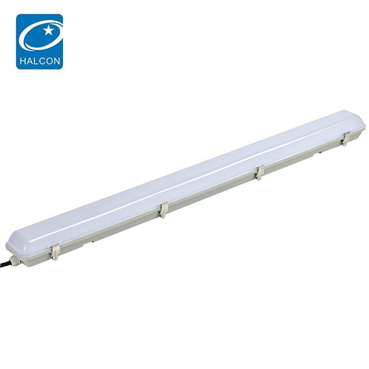 Factory price library office dimming 4ft 40 60 w slim linear led batten light