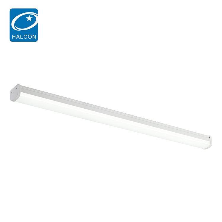 Top quality corridor office dimming 36 60 watt 4ft 8ft slim led batten lamp