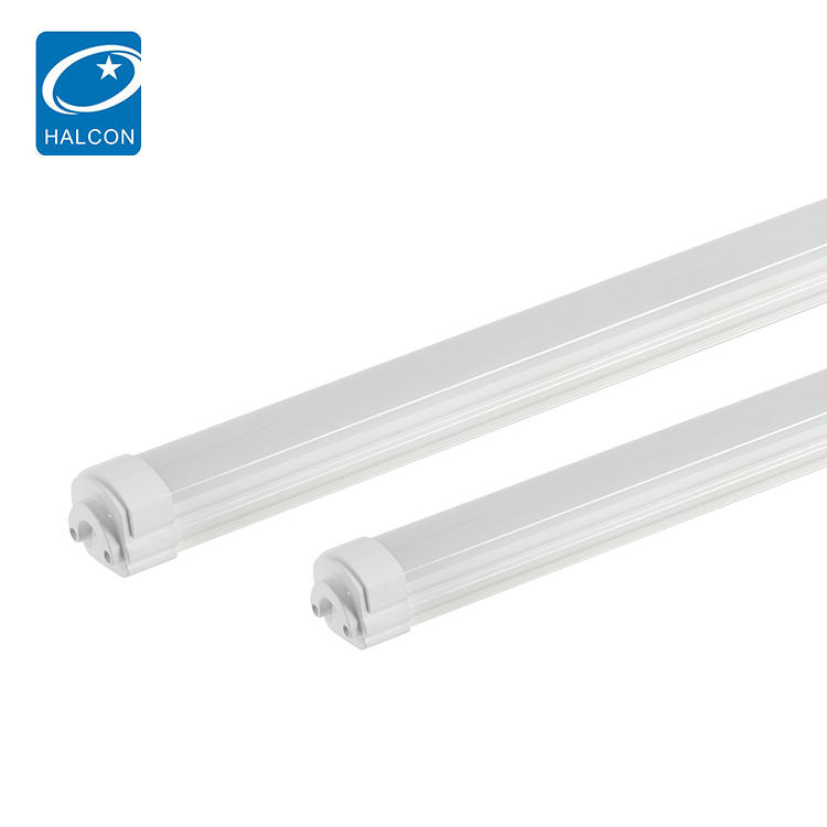 High Lumen Hanging Waterproof Ip65 4ft 8ft 36watt 60watt Tri-proof Led Strip Batten Light