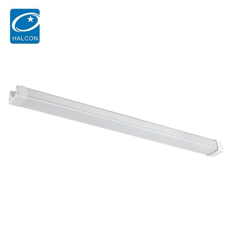 China Manufacturer library hotel dimming 4ft 8ft 36 60 w led batten strip lamp
