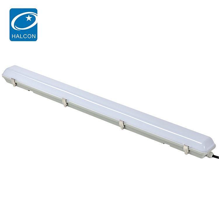 Hot selling corridor office dimming 40 60 watt 4ft slim linear led batten strip lamp