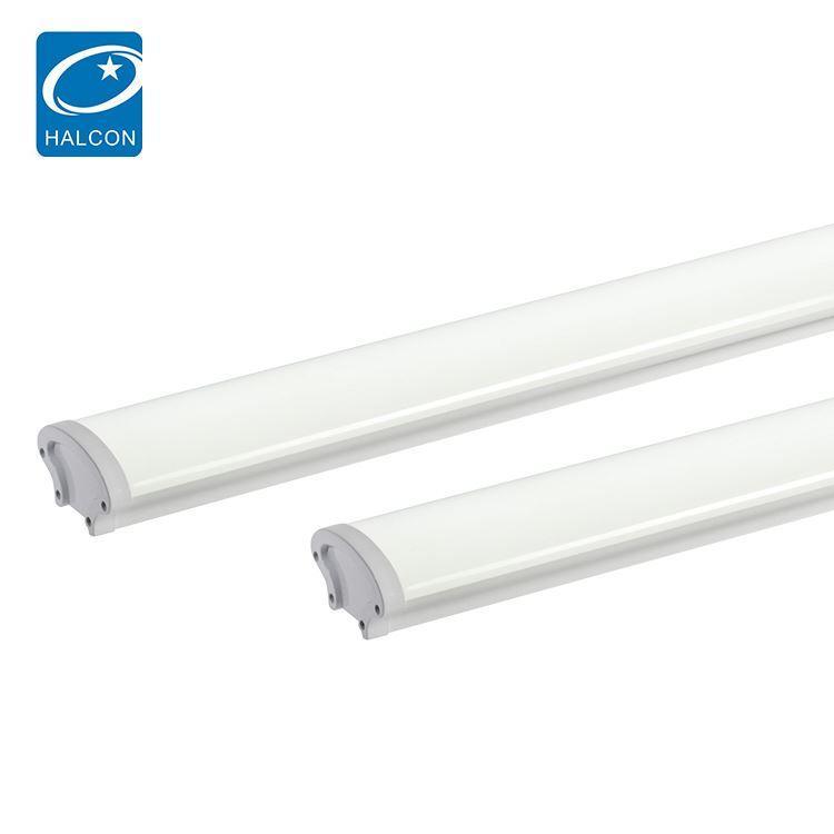 High brightness waterproof ip65 hospital adjustable 4ft 8ft 36w 60w slim linear led lamp