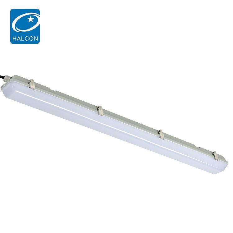 Quality supplier school hospital dimming 4ft 40w 60w slim led batten lamp