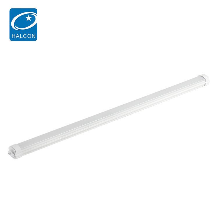 Halcon Steel Sheet IP65 Waterproof 4ft 8ft 36watt 60watt smd tri proof Led Office Lamp