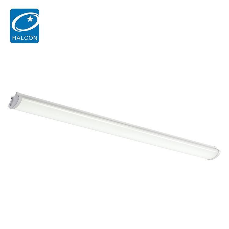 Best seller waterproof ip65 hospital adjustable 36w 60w 4ft 8ft slim linear led batten strip lamp