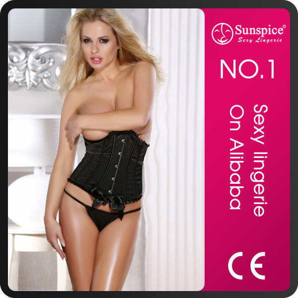 Sunspice hot sale fashion style hot pretty girls full sexy image photo corset
