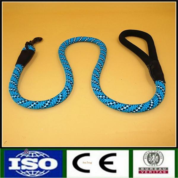 nylon rope dog pet slip training leash