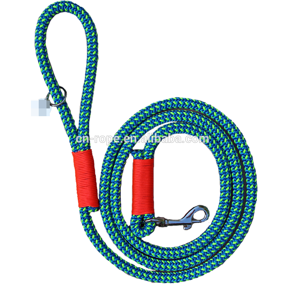 3/8 inch 5ft nylon climbing rope pet leash for dog