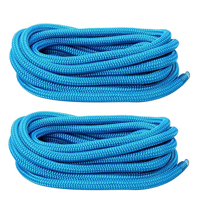 4 pack double braided nylon dock line in clamshell package