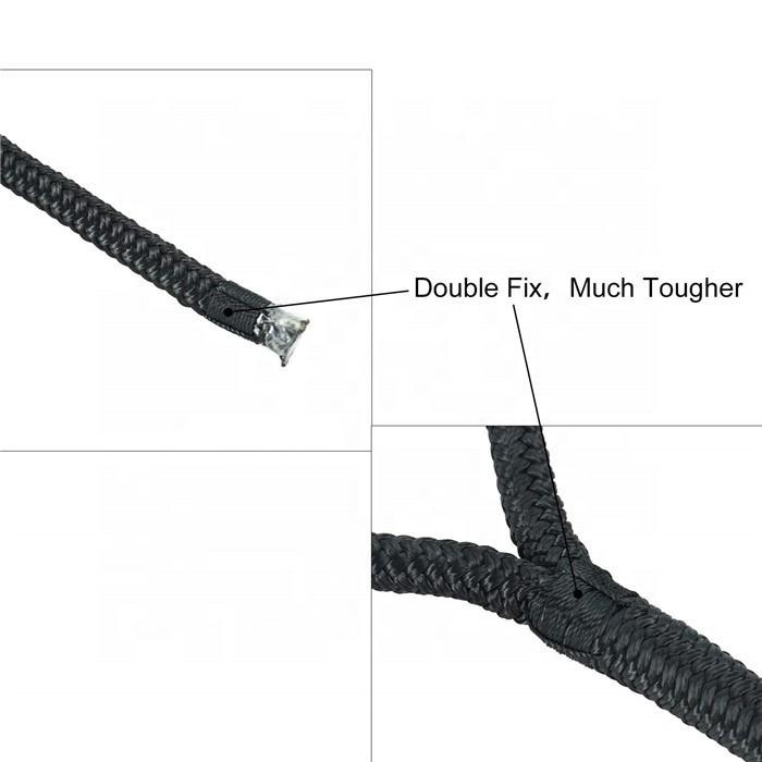 4 Pack 15' Premium Double Braided Nylon Dock Line
